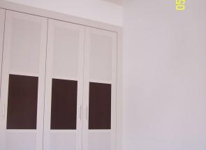 armarios en casas de madera imagenes