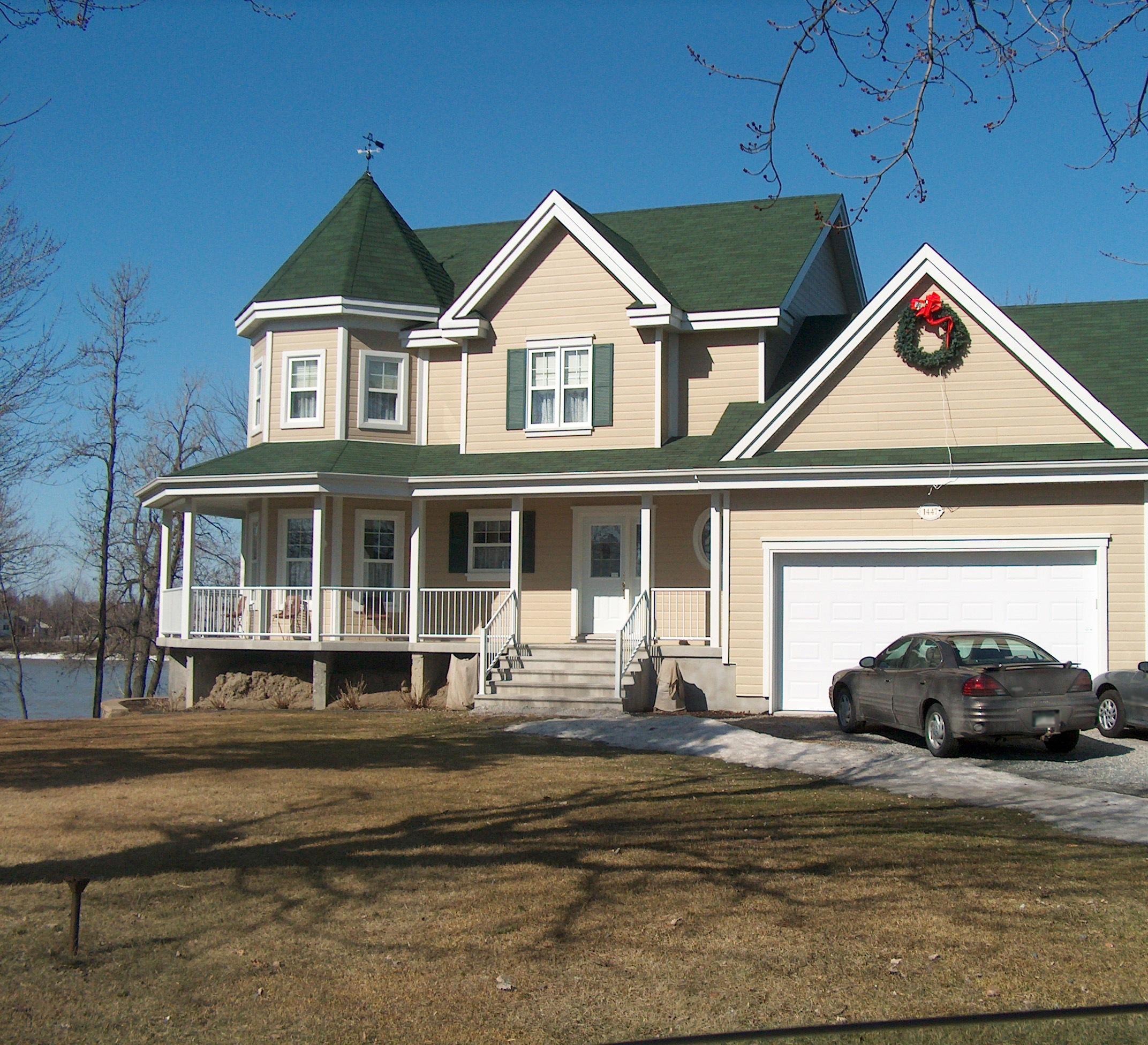 Fotos de exterior de casas canadienses construcciones - Fotos de casas americanas ...