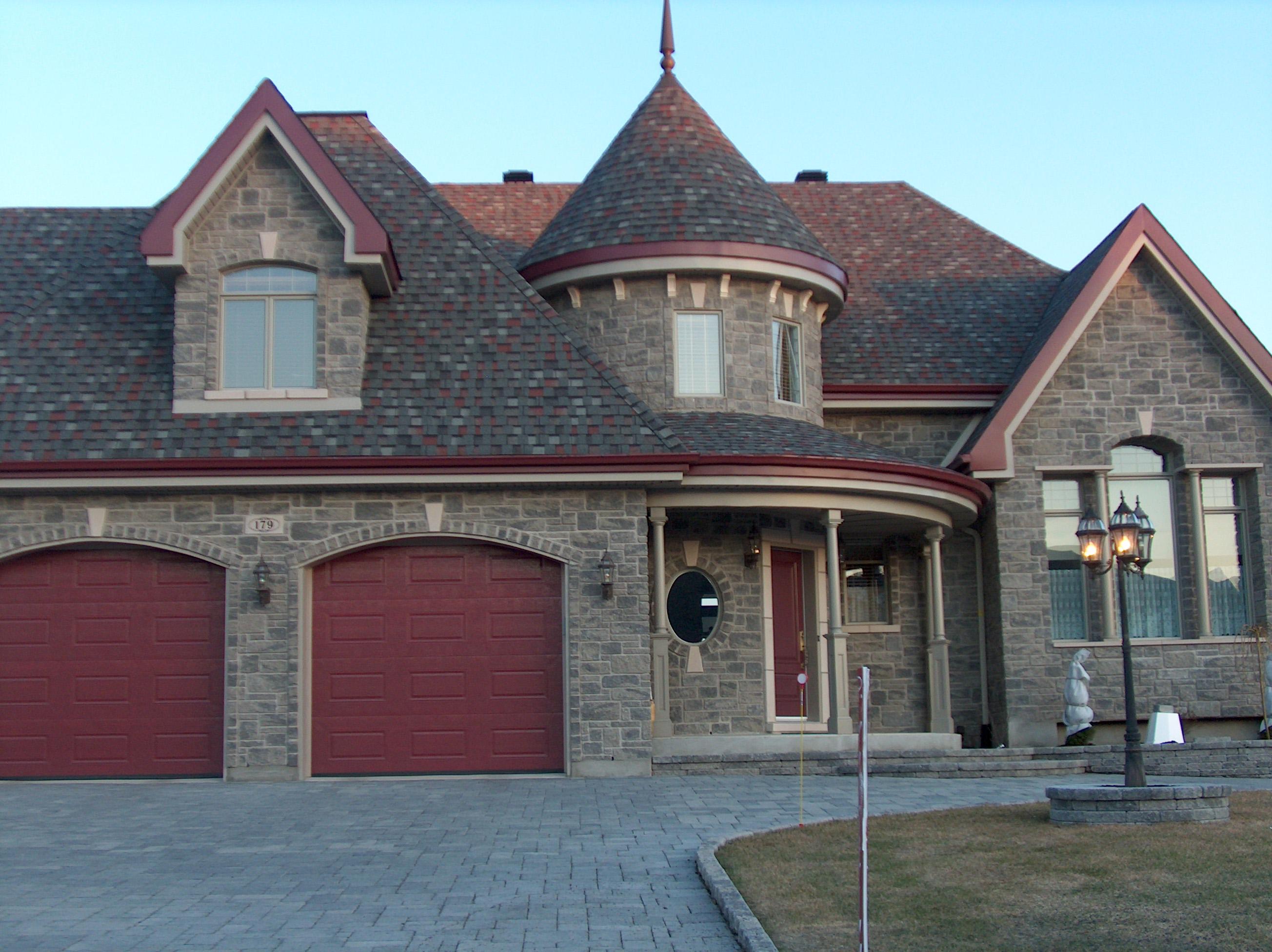 Fotos de exterior de casas canadienses construcciones for Casas casas