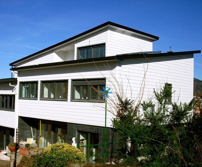 Fotos de exterior de casas canadienses construcciones for Canexel construcciones