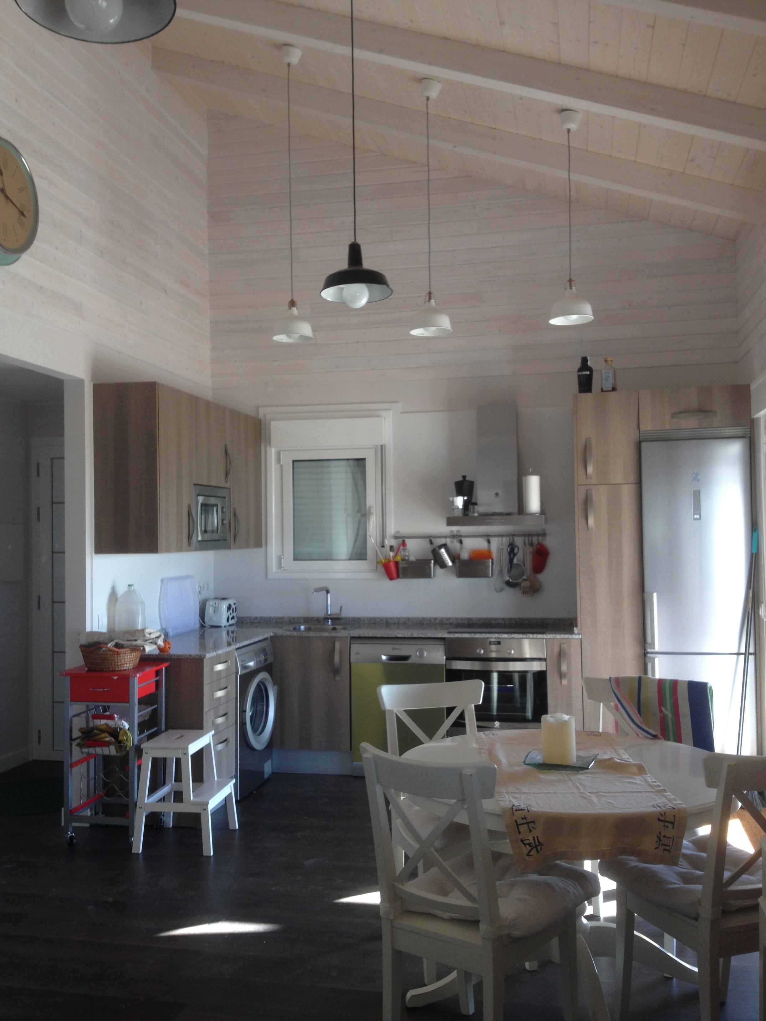 Fotos interiores de casas de madera canadienses for Fotos de interiores de casas