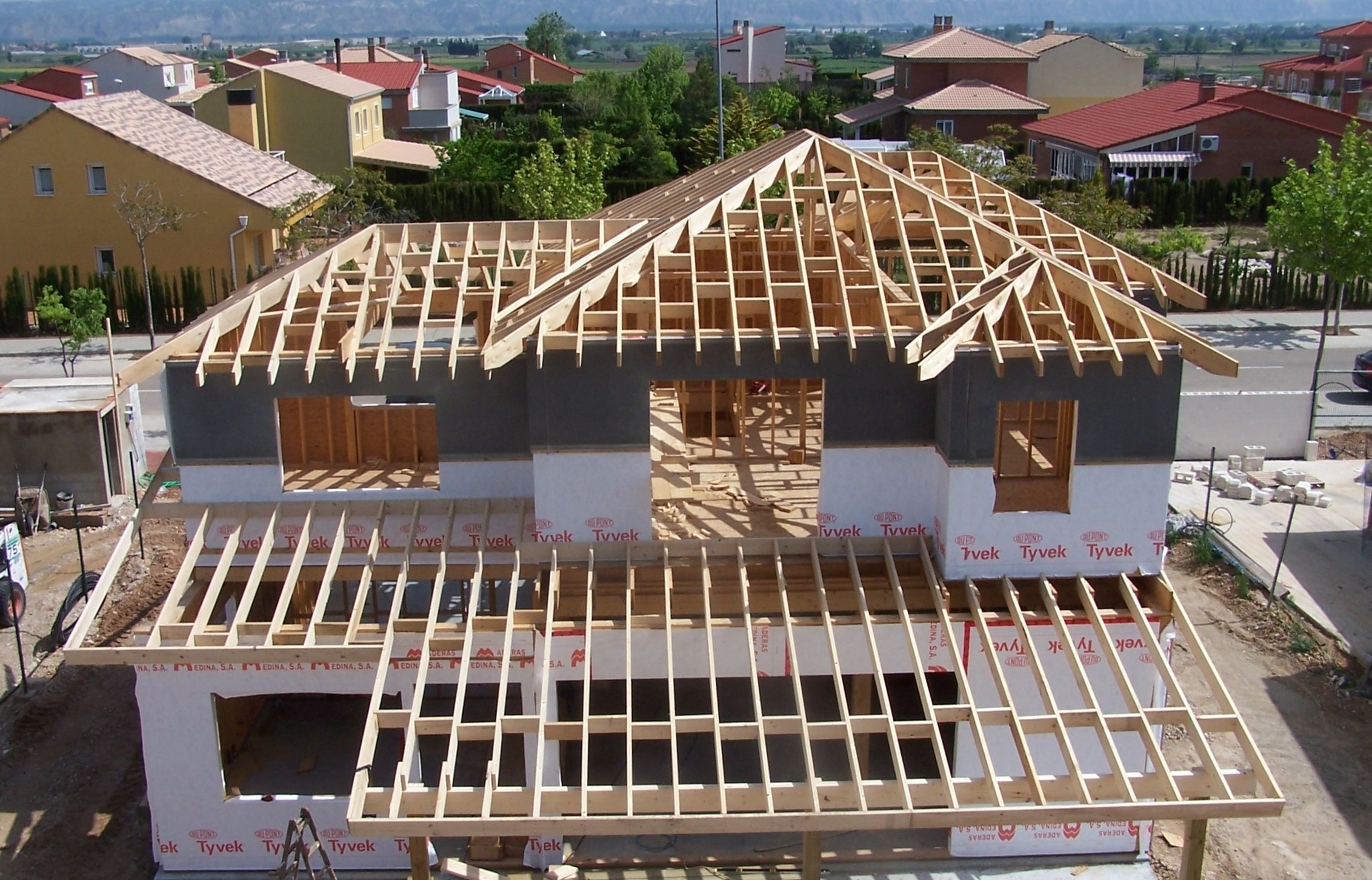 casas de madera canadienses construcciones canadienses
