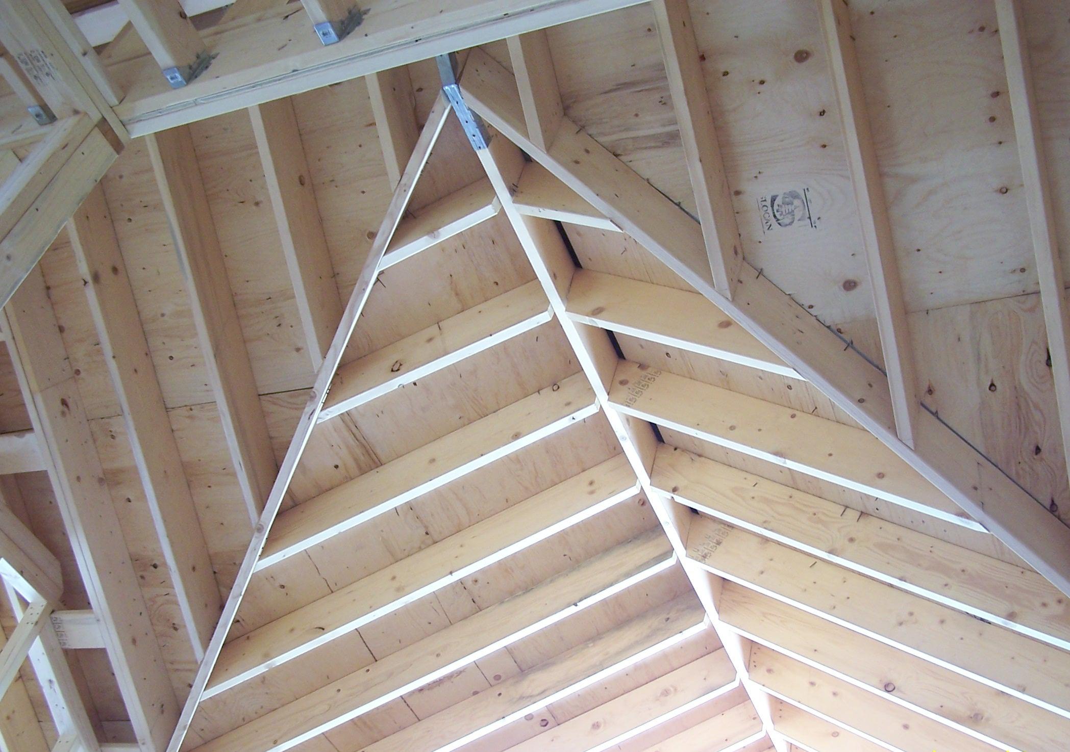 Casas de madera canadienses construcciones canadienses - Estructuras de madera para tejados ...