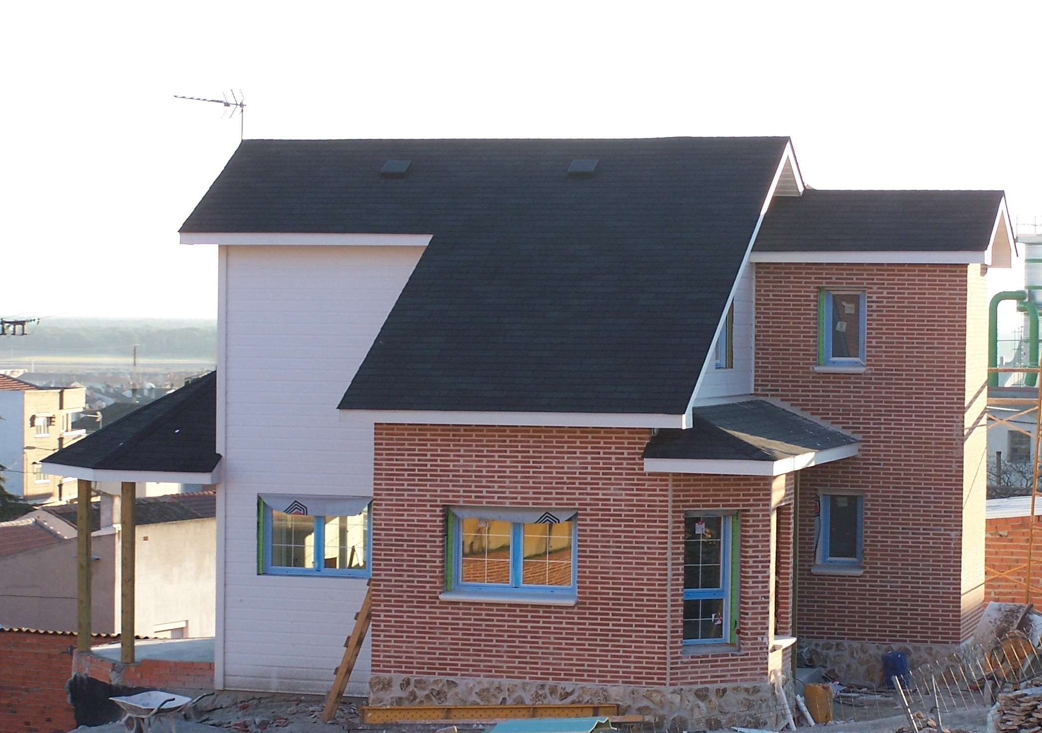 Casas de madera canadienses construcciones canadienses for Techos de madera para exterior