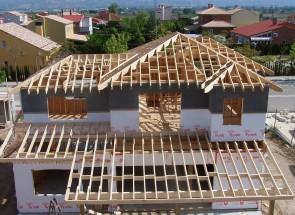 Cubiertas 1. Casas de madera