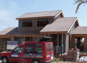 Cubiertas 4. Casas de madera