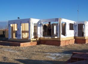 Estructura 1. Casas de madera