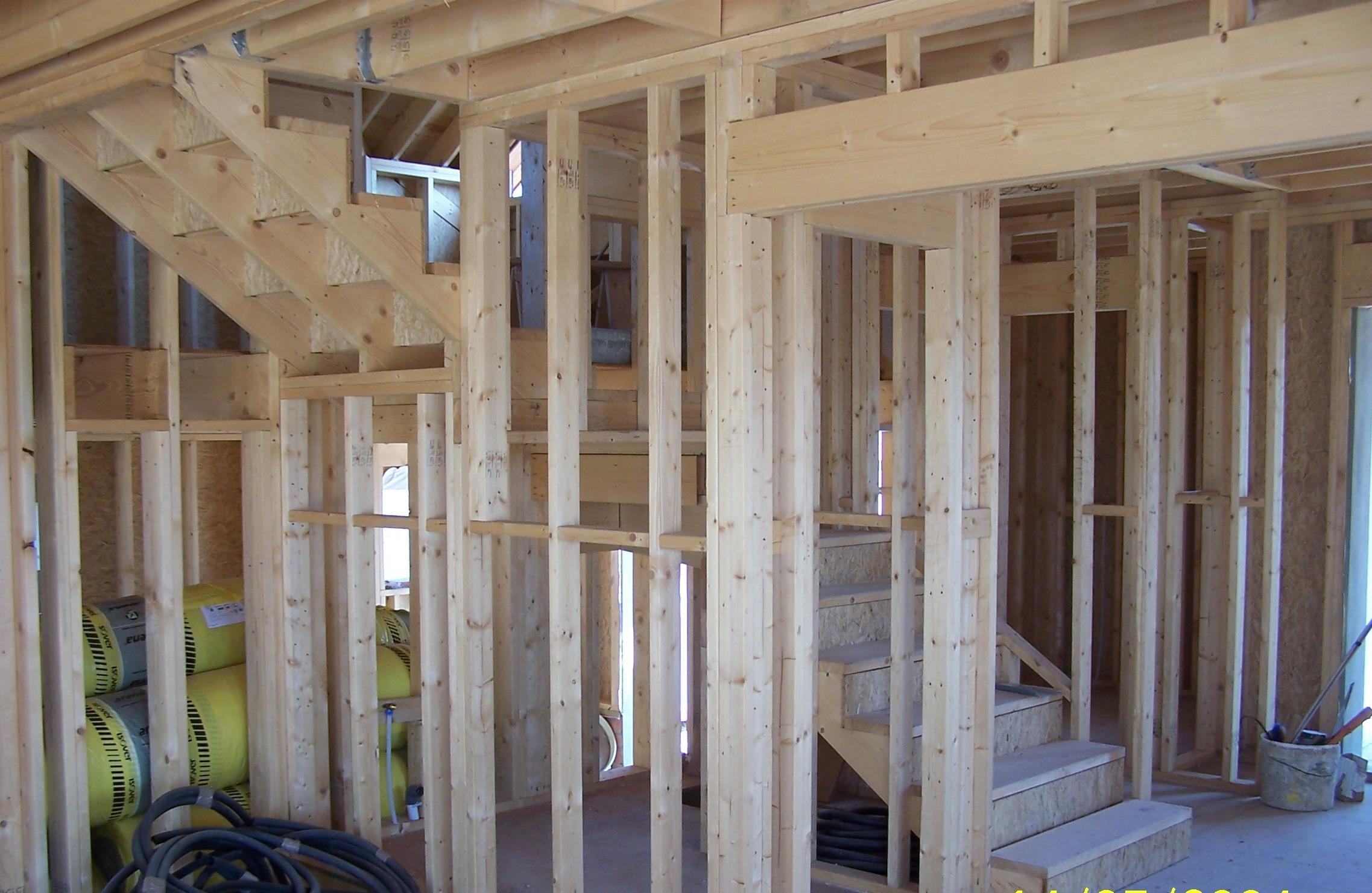 Casas de madera canadienses construcciones canadienses - Casas de madera de pino ...