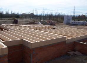 Forjado 1. Casas de madera