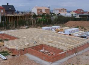 Forjado 2. Casas de madera