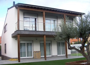 Revestimiento exterior 4. Casas de madera
