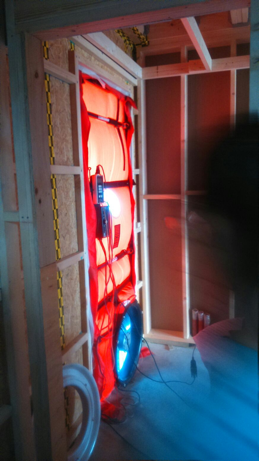 Test Blower Door